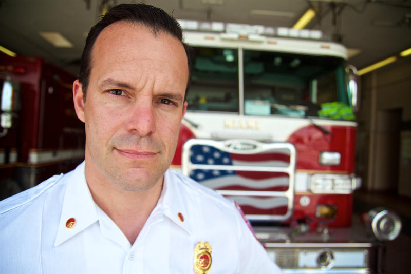 "Miami Fire Rescue EMS Chief Robert Hevia says, whatever the cost of naloxone, the department has to pay it. ""The best part of wearing a Miami firefighter uniform is that we don't put a price tag on saving someone's life,"" said Hevia. Feb. 8, 2018."