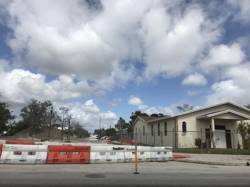 Sistrunk Blvd. construction