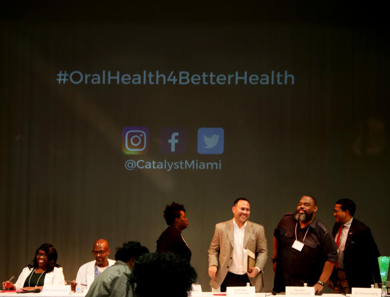 Discussion pannel for the annual Oral Health Equity Summit in Miami on Tuesday, March 27, 2018.