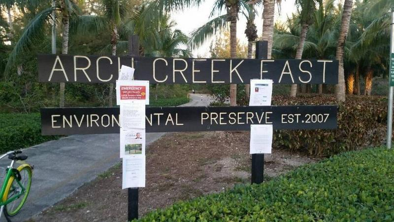 Legislation is being considered that would allow Florida International University to open an access road through North Miami's Arch Creek East nature preserve.