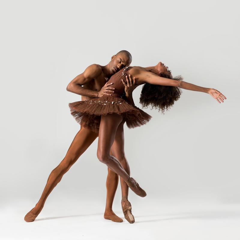 Dancers Anthony Javier Savoy and Lindsey Croop