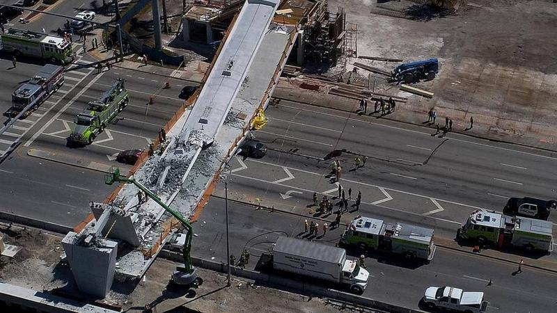 Six people died in the collapse of the FIU pedestrian bridge, including motorists, passengers and one construction worker