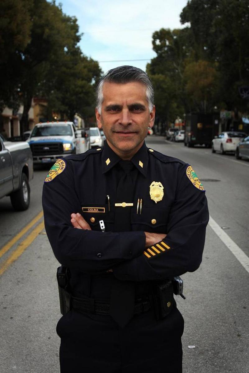 Miami Police Chief Jorge Colina