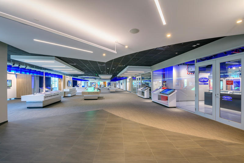 UTC's state-of-the-art customer experience center