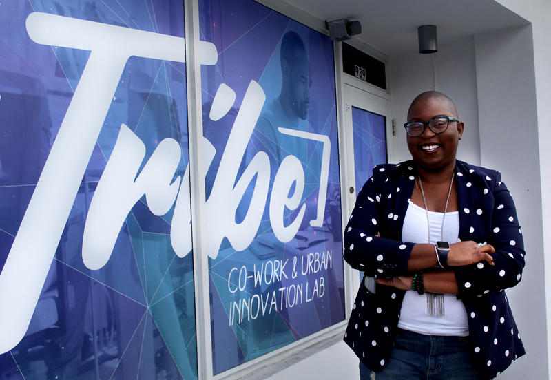 Felicia Hatcher, co-founder of BlackTech Week, is also the co-founder of Miami's newest co-working space. A Space Called Tribe Co-Work and Urban-Innovation Lab is located in Overtown and is dedicated to serve the community around it.