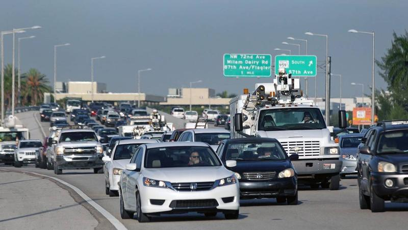 South Florida has seen a whopping increase in the share of commuters who travel at least 90 minutes to get to work.