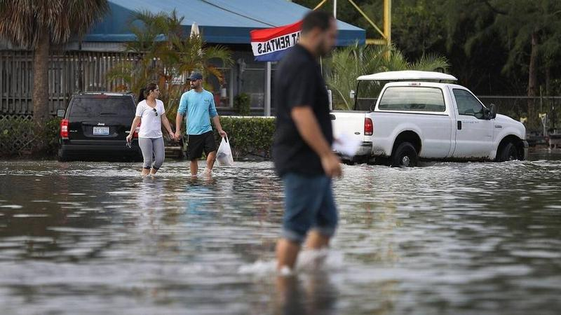 Sea level rise is worsening tidal flooding in South Florida. Miami and Miami Beach are collecting data they will use to build interactive tools to help property owners understand their risks as waters rise.