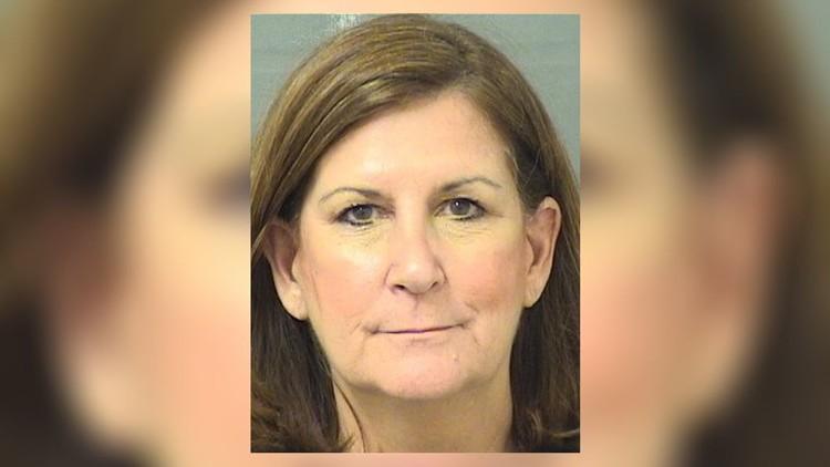 Boca Raton Mayor Susan Haynie's booking mug shot, April 24, 2018.