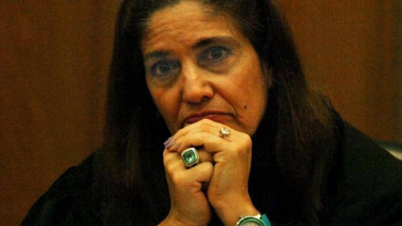 Judge Sarah Zabel listens to court testimony in 2010. Judge Sarah Zabel listens to court testimony in 2010.