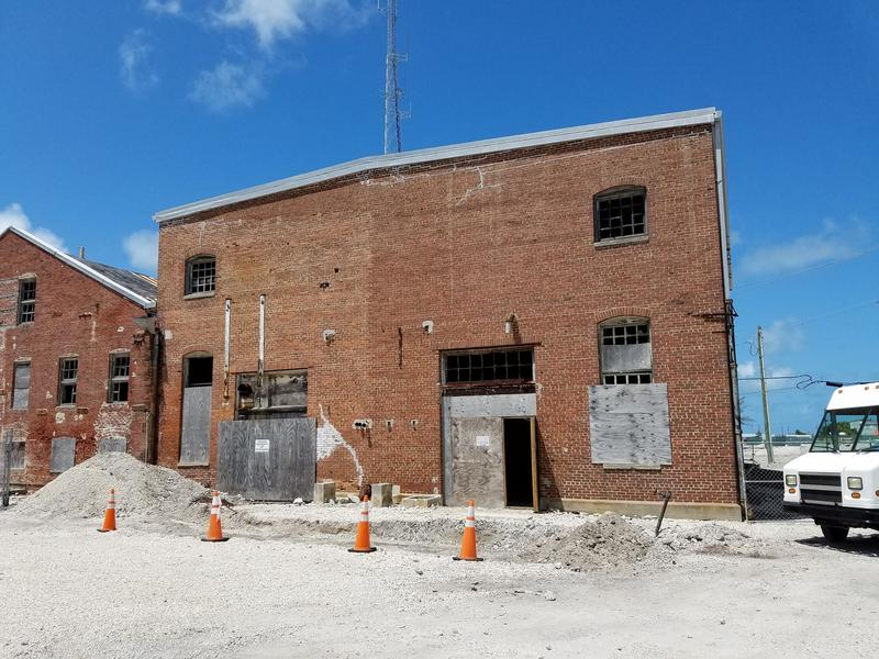 Key West's first power plant is still standing — and still has its historic power-generating engines inside.