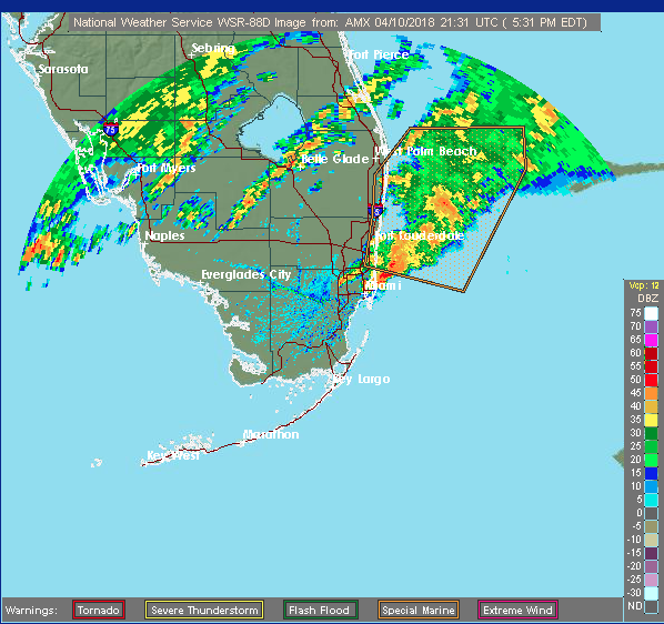 Bout Of Severe Weather Hits South Florida Wlrn
