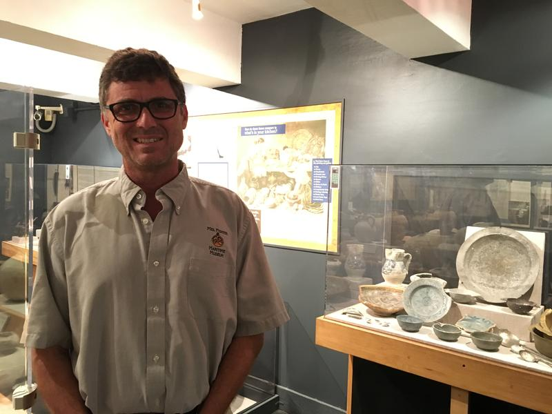 Corey Malcom is director of archaeology at the Mel Fisher Maritime Museum in Key West.