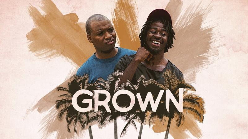 GROWN is a new web series produced in Miami starring two Haitian American men .