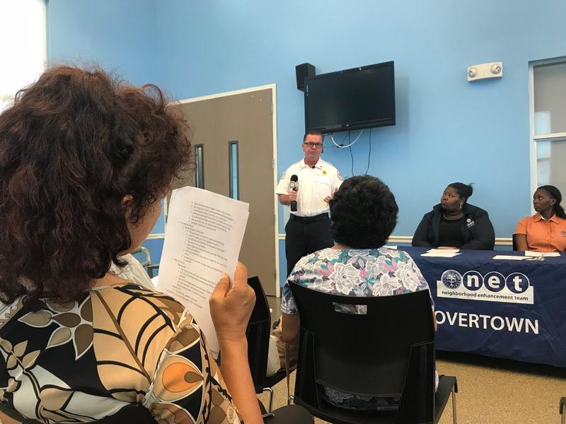 At a community meeting in Overtown, firefighters from the City of Miami talked with residents about how to prepare for hurricane season. City officials say they're thinking about how neighbors could be part of Miami's emergency plan.