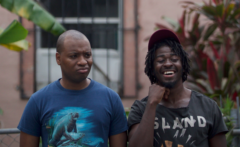 Haitian filmmakers Joshua Jean Baptiste and Edson Jean are the two leads of a new Miami web-series called GROWN.