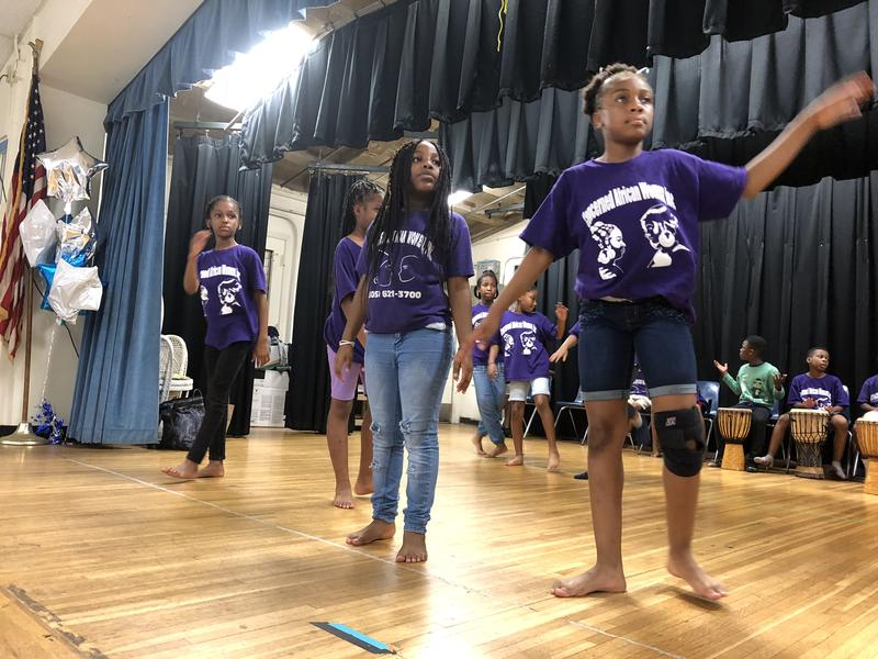 The campers are preparing an original dance piece they will perform at the end of the summer.