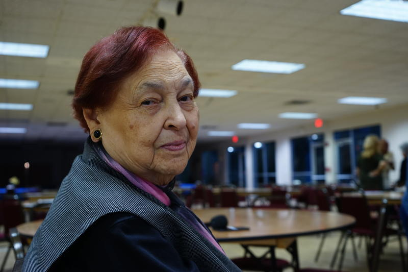 Josefa Enriquez, a 91-year old resident of George Humphrey Tower, has lived in the building for 16 years.