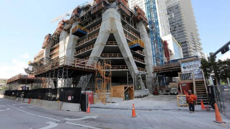 The South Florida construction industry is experiencing a labor shortage and rising wages as unemployment in the region declines.