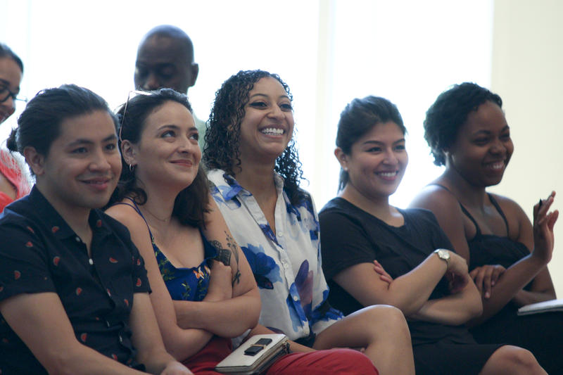 The National Alliance for Audition Support brough together classical string musicians for a workshop in Miami Beach.
