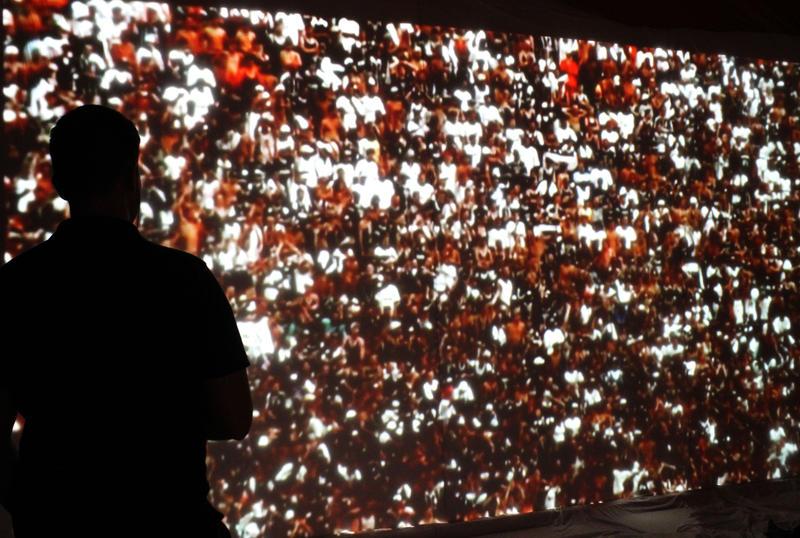 """Stephen Dean's immersive installation """"Volta."""""""