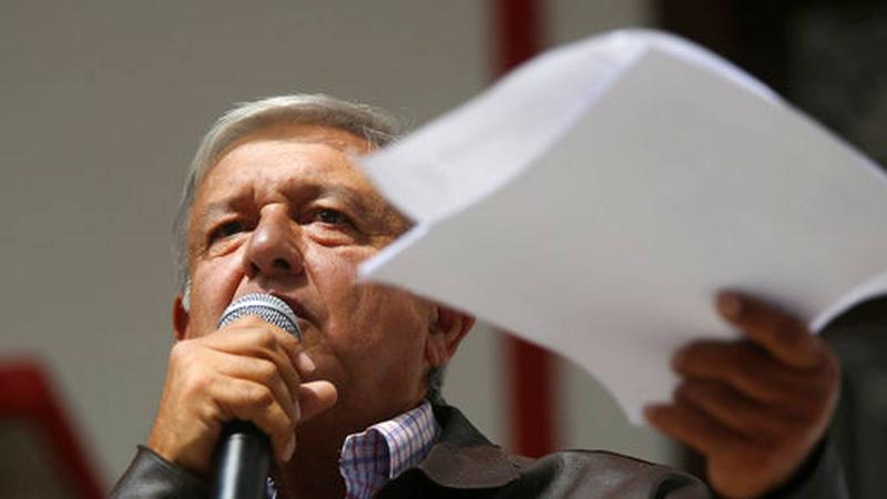 Mexican President-elect Andres Manuel Lopez Obrador, known as AMLO.