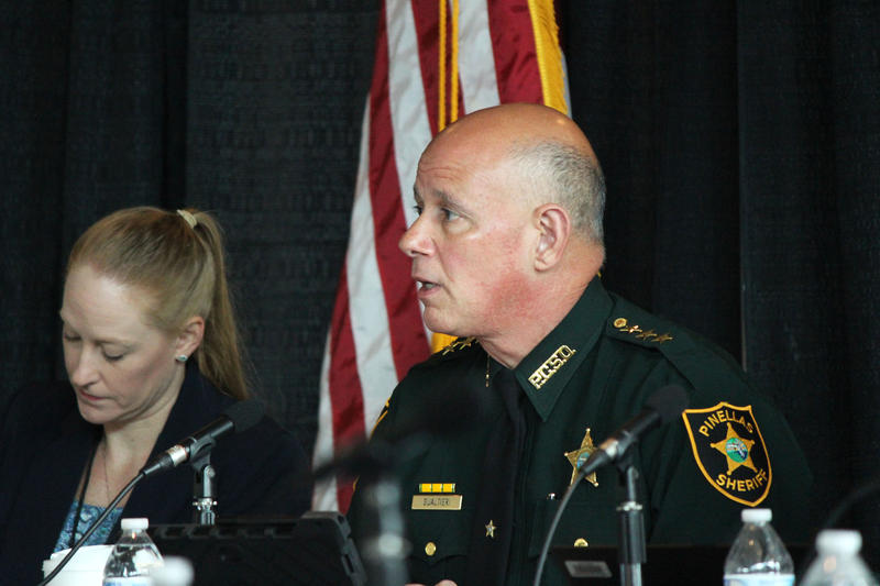 Pinellas County Sheriff Bob Gualtieri is chair of the Marjory Stoneman Douglas High School Public Safety Commission, which met Tuesday at the BB&T Center in Sunrise.