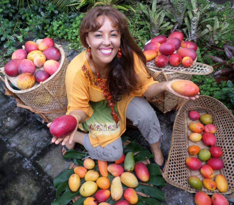 """Dr. Noris Ledesma calls herself a """"mango maniac."""" She studys mangoes for a living and wants to create the mango of the future."""