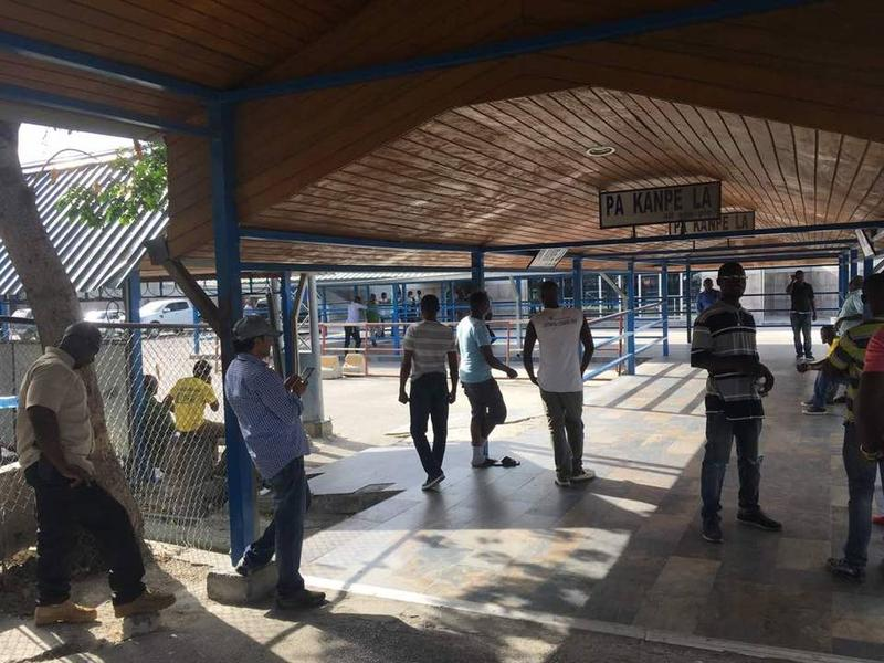 The waiting area Sunday at the Toussaint Louverture International Airport in Port-au-Prince after Delta and American Airlines resumed some flights on Sunday after days of civil unrest.