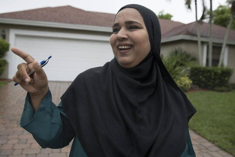 running springs muslim A white woman confronting a latino man doing landscape work in the san bernardino county mountain community of running springs calls  the muslim woman for wearing.