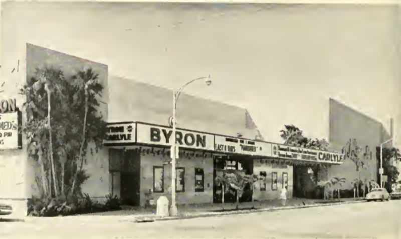 The Byron Carlyle Theatre opened in 1968.
