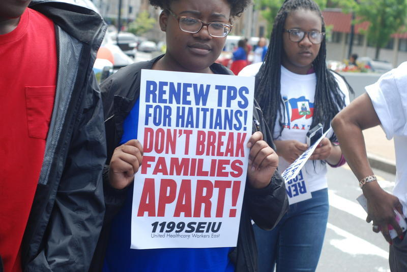 Florida recipients of Temporary Protected Status are in Washington, D.C.