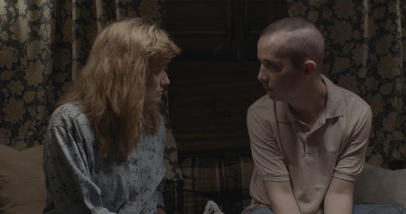 Edith (right) and Carson (left) in a scene from short film 'The Horse and the Stag.'