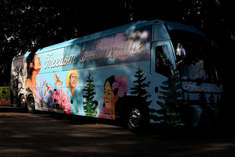 "The ""Freedom to Breathe"" bus tour began in Atlanta and is capturing stories of resilience and climate-related injustices to be presented at their last stop in the Global Climate Action Summit in San Francisco on September 12."