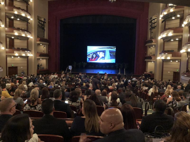 Administrators and teachers gathered at the Adrienne Arsht Center in downtown Miami on Tuesday for an annual address from Superintendent Alberto Carvalho.
