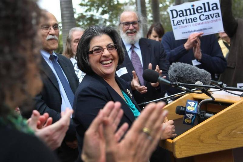 Daniella Levine Cava, shown here in a 2014 campaign kick-off event, ran for her second term representing South Dade in District 8 on the Miami-Dade County Commission.