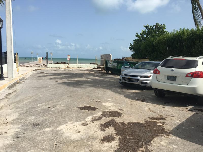 Nine parking spaces are set to be replaced by new landscaping, pavers and seats for patrons of a nearby restaurant and guesthouse.