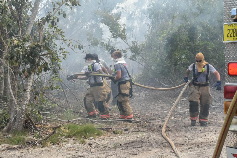 A fire on Big Pine Key in April consumed dozens of acres and one structure.