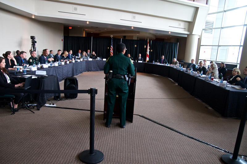Broward Sheriff's Office Major Nichole Anderson testified before the Commission in June.