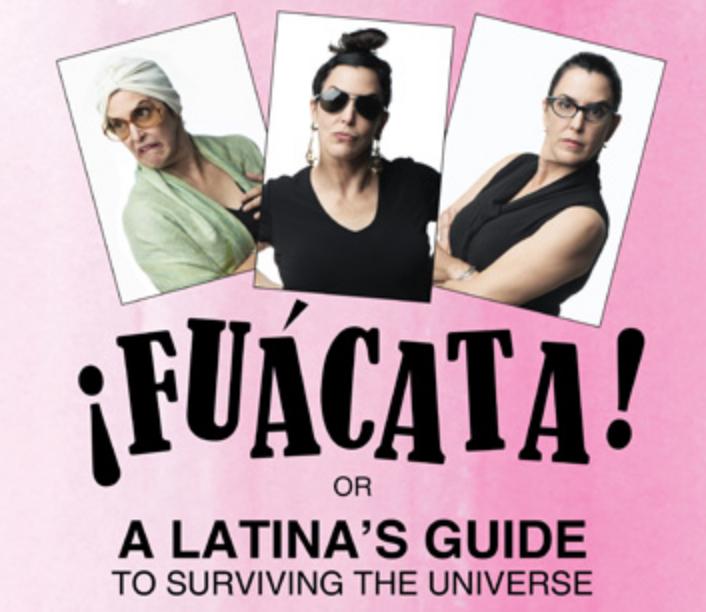 Cuban-American actress Elena María García plays 24 different Latinas in the solo show.