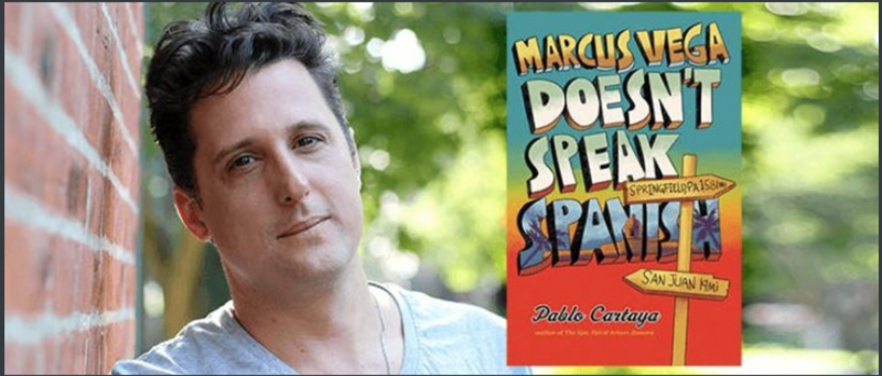 Pablo Cartaya's new novel is about a young man's journey to Puerto Rico to discover his roots.