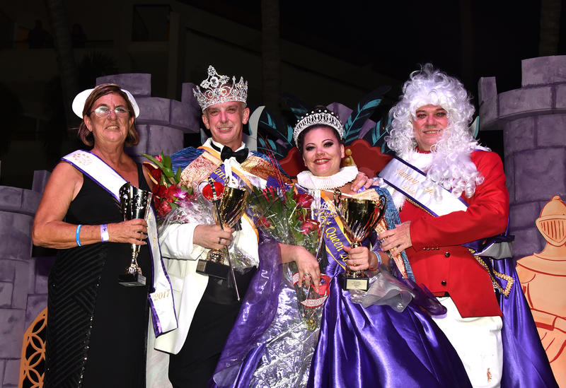 AH's biggest fundraiser of the year is the campaign for King and Queen of Fantasy Fest. The candidates who raise the most money are crowned.