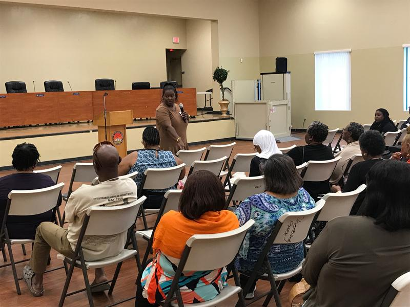 More than 20 people attended a summit on Saturday where they learned how to canvass, phone bank and use social media to mobilize voters.