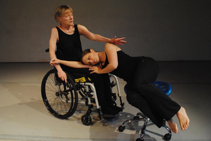 Shawn Buller (left) is a dancer with the Karen Peterson Dance company.