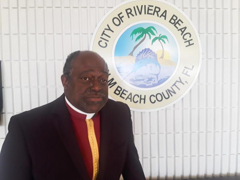Riviera Beach Mayor Thomas Masters