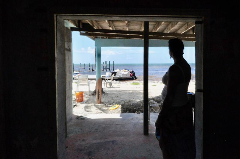 Rachel Stephens is rebuilding the hotel she co-owns with her mom, The White Sands Inn. Hurricane Irma devastated the small hotel, which sits just feet from the Atlantic Ocean on Grassey Key. Stephens also had a baby daughter since the storm.