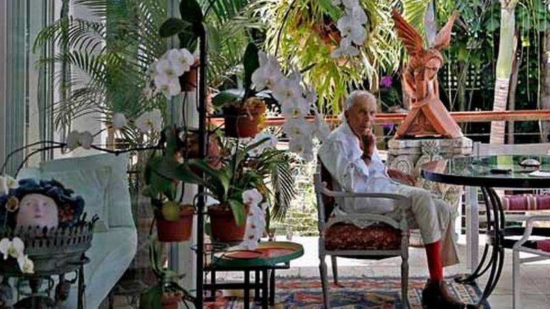 David Wolkowsky in Key West in 2012. He died Sunday evening, at the age of 99.