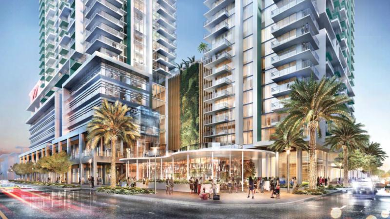 Riverparc Square development