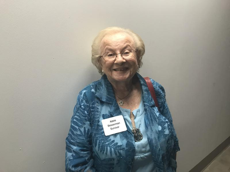 Adele Besserman, 88, is a survivor of the Holocaust. She was 9 years old when her family fled to Russia to escape Poland.