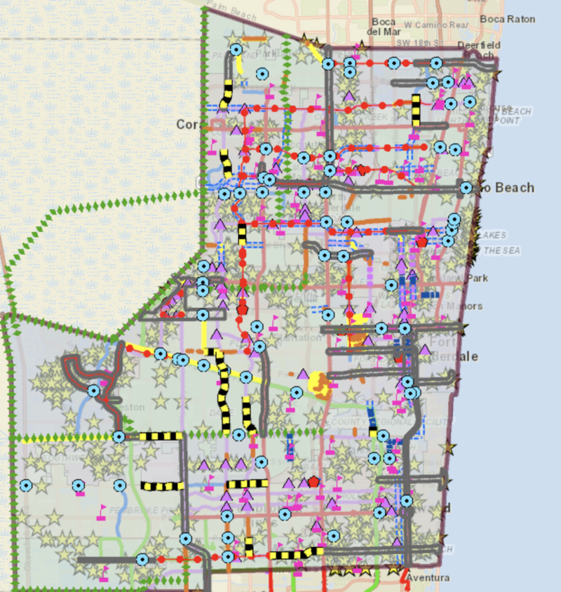 There are hundreds of proposed projects if Broward County voters okay a 1 percent sales tax increase to pay for transportation. The referendum is on the fall ballot. If approved, the 1 percent sales tax would be in place for 30 years.