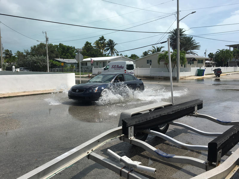 Riviera Drive and Eleventh Street in Key West.